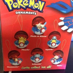 Pokemon Retired Collector's Edition 6 Ornaments
